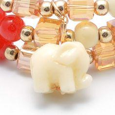 Un acercamiento mortal  #pulseras #resin #cristales #elefante