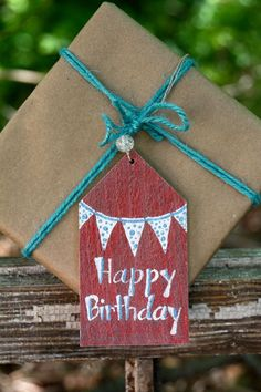 Gift Tag | Happy Birthday