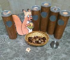 Help de eekhoorn sorteerspel