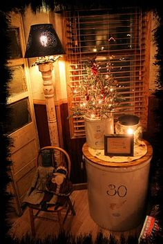 Star Spangled Pretties: Christmas pics~ front room and entryway.