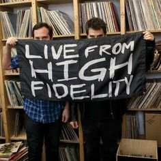 The first ever physical release of musical segments from the popular podcast Live From High Fidelity, which finds vinyl obsessives Tom DeSavia and Eric Gorfain talking about recent finds and wish lists. The translucent green vinyl features some of the best of the musical guests who have been recorded Live From High Fidelity.