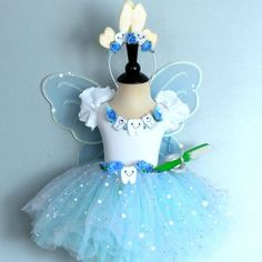Fairy Costume  TOOTH FAIRY fits children sizes 4 by FairyNanaLand, $89.00