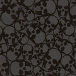 'Skulls' midnight wallpaper, designed by Barbara Hulanicki, available from…