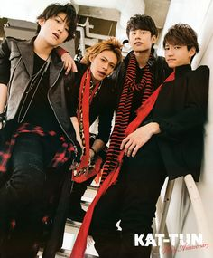 KAT-TUN back in red and black!