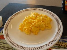 Waffle House Restaurant Copycat Recipes: Cheese Eggs