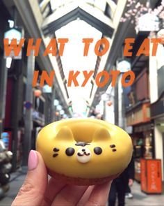 All you need to know on what and where to eat in Kyoto!