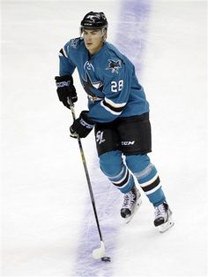 San Jose Sharks forward Timo Meier with the puck during warmups (Sept. 25 c7d629f71