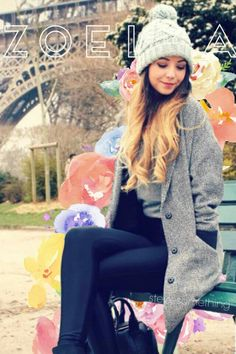 Zoella !! Love Her Zoella, Girl Online Books, Wooly Hats, Zoe Sugg, Vlog Squad, Celebs, Celebrities, I Love Fashion, Ripped Jeans