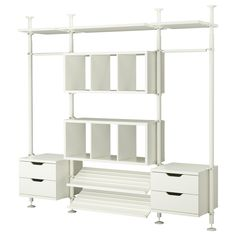 STOLMEN 3 sections - IKEA-perfect for organizer our walk-in closet!
