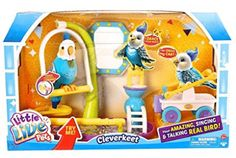 Little Live Pets Clever Keet Top Toys for Christmas 2015 Top Christmas Toys, Best Christmas Gifts, Christmas 2015, Christmas Presents, Christmas Ideas, Holiday, Moose Toys, Bird Toys, Girl Toys Age 5