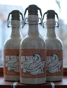 CervejaSchorschbock, a mais forte do mundo com 57% de álcool.