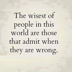 The wisest ...