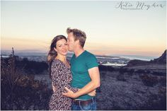engagement shoot in fire ravaged cape