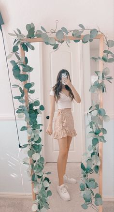 Trendy Summer Outfits, Cute Comfy Outfits, Girly Outfits, Pretty Outfits, Stylish Outfits, Outfits For School Summer, Preppy School Outfits, Simple Outfits, Teen Fashion Outfits