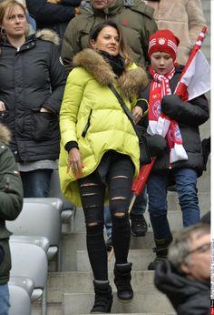 Lewandowska kibicuje Robertowi! (ZDJĘCIA)