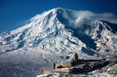 Khor virap monastery and Mount Ararat Photo by Ali Doosti -- National Geographic Your Shot