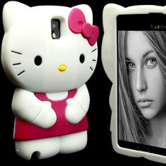 Case for Samsung Galaxy Note 3 III Cover KLGB Skin Silicone Hello Kitty 3D Gel #UnbrandedGeneric