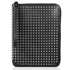 Christian Louboutin pochette d'iPad http://www.vogue.fr/mode/shopping/diaporama/pochettes-d-ipad/11209/image/658435#christian-louboutin-pochette-d-039-ipad