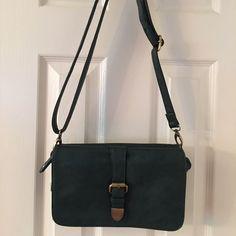 Misco Girl Blue Green Vegan Cross Body Bag