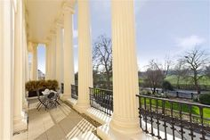 Cumberland Terrace, Regents Park, London for a mere 6 million 800 pounds the view from my london flat that needs a redecoration Find Property, Property For Sale, Carlton House, London Neighborhoods, English Architecture, Parking Design, Neoclassical, Exterior Design, Terrace