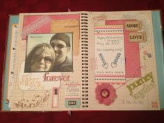 Lot's of great cards and Smash pages as well as wonderful photos.  Very inspirational.  My Smashbook pages for our 12th wedding anniversary :)