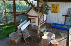 wonderful rabbit cage with plenty of room to run around and explore