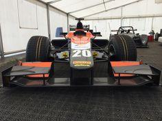 The GP2 car of dutch racing team MP Motorsport at Autoweek Live 2014 #gp2 #mpmotorsport