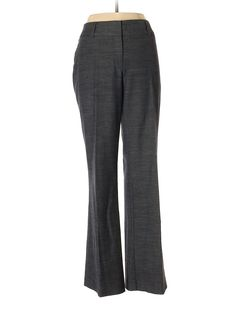 Ann Taylor LOFT Dress Pants: Size 8.00 Dark Blue Women's Bottoms - $16.99