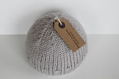 TRUULI IN CLOUD  hand knit chunky merino von TheBlueberryElephant, £25.00