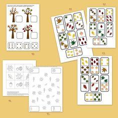 Őszi falevelek játékcsomag | Ovis játék webshop