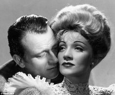 Untrue Grit: The real John Wayne cheated on his (three) wives with Marlene Dietrich and Maureen O'Hara, downed shots of tequila and smoked four or five packs of Camels a day Marlene Dietrich, John Wayne Movies, Maureen O'hara, John Ford, Bob Hope, Actor John, Movie Couples, Western Movies, Best Husband