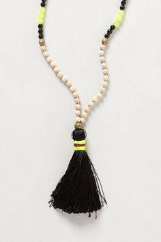 Rambla Tassel Necklace - anthropologie.com