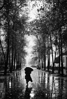 """""""Suddenly this defeat. This rain. The blues gone gray And the browns gone gray And yellow A terrible amber. In the cold streets Your warm body. In whatever room Your warm body. Among all the people Your absence The people who are always Not you.   I have been easy with trees Too long. Too familiar with mountains. Joy has been a habit. Now Suddenly This rain."""" • Jack Gilbert"""