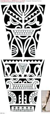 172-idea-tattoo-polynesian-calf.jpg (175×400)