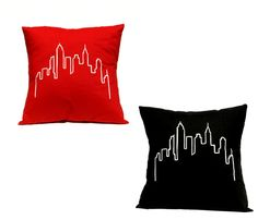 City Towers Pillow  by Linnea Swedish Design