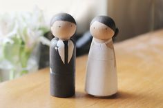 elephantine's Wedding Cake Toppers... I loved our topper, but this would definitely be my go-to for my second wedding =P