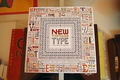 New Vintage Type: Classic Fonts for the Digital Age by Steven Heller and Gail Anderson. Artsy-fartsy depth-of-field cover shot Eccentric Movement, Typography Letters, Lettering, Classic Fonts, Greek Words, Vintage Type, Depth Of Field, Art Deco Fashion