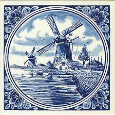 Коллекция картинок: Рисунки старинных голландских изразцов China Painting, Tole Painting, Artist Painting, Victorian Crafts, Toile Wallpaper, Delft Tiles, Blue Pottery, Decoupage Paper, Tile Art