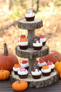 Gluten-free Autumn Cupcakes
