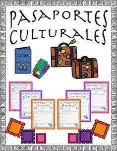 Pasaporte Cultural Country Bundle by LA SECUNDARIA | Teachers Pay Teachers