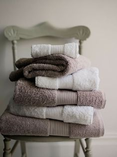 Cotton towels, from £4, The White Company.