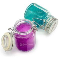 Tarro Cristal Hermético Xuxo, 75 ml.  Este tarro es ideal para meter tus cremas, velas aromáticas, gelatina de jabón, tiene un montón de posibilidades, encuéntralo en Gran Velada. #DIY