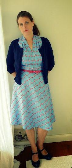frau burow näht: September 2013--love her vintage sewing