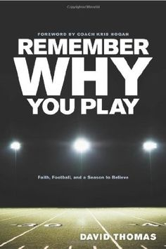 Going to share this one with my football players & husband coach. Can't wait to read it myself!!