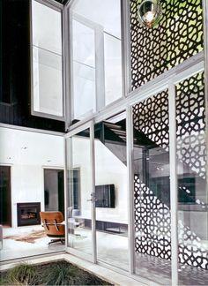 #pattern #residential #screen #stairs #lasercutmetal #pattern