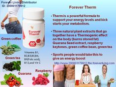 Forever Therm™ Forever Therm™ is a powerful, supportive formula to help boost your energy levels and kick-start metabolism, helping you on your weight-loss journey. Forever Therm™ is designed to help accelerate your weight loss efforts so you see results faster and achieve your ultimate desired shape and weight loss goals.