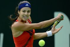 Serbia's Ana Ivanovic returns the ball to Czech Republis's Klara Zakopalova during the Kremlin Cup tennis tournament in Moscow on October 17, 2013. KIRILL KUDRYAVTSEV/AFP/Getty Images
