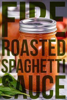 This all-from-scratch recipe for Fire Roasted Spaghetti Sauce is full of rich flavor and vibrant color. The recipe calls for fresh and healthy ingredients that combine to make the best spaghetti sauce ever! Spaghetti Sauce From Scratch, Best Spaghetti Sauce, Homemade Spaghetti Sauce, Sauce Recipes, Cooking Recipes, Stay At Home Chef, Canning Vegetables, Summer Tomato, Roasted Tomatoes