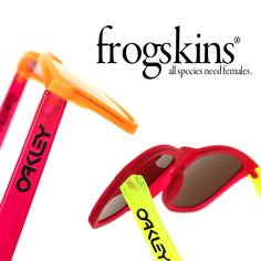 Oakley Frogskin Sunglasses: A rare retro classic that refuse to be forgotten.