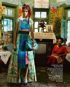 Scarlet Bindi - South Asian Fashion and Travel Blog by Neha Oberoi: VOGUE INDIA OCTOBER 2015: FASHION EDITORIAL
